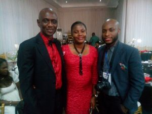 Pastor and Mrs. Francis Ogah with Stanley G. Jack