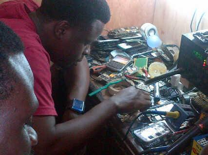 repairin phone