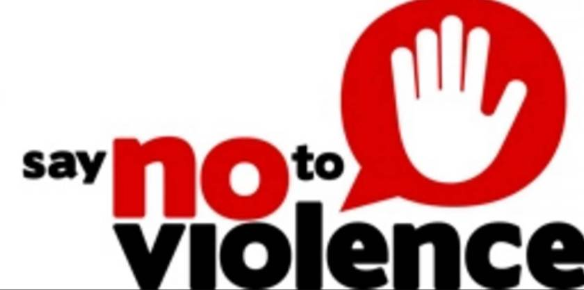 Say no to violence essay