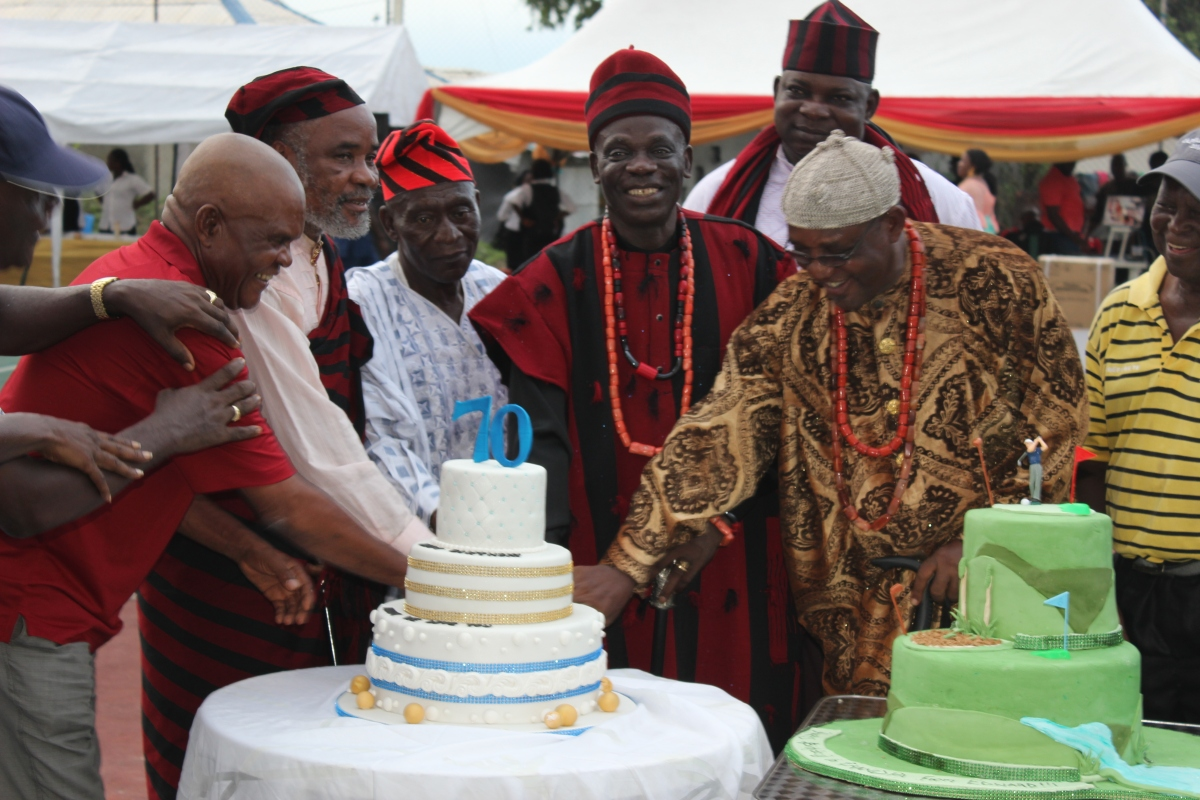 And Port Harcourt City Turned Up To Celebrate Chief (Captain) E. S. Ejeh (RTD) At 70 (Pictures)